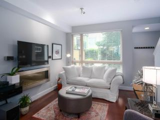 "Photo 1: 37 728 W 14TH Street in North Vancouver: Mosquito Creek Townhouse for sale in ""THE NOMA"" : MLS®# R2395656"