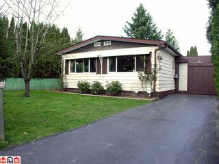 Photo 1: 2229 CRYSTAL Court in Abbotsford: Poplar Manufactured Home for sale : MLS®# F1007385