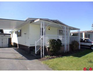 "Photo 1: 128 3665 244 Street in Langley: Otter District Manufactured Home for sale in ""LANGLEY GROVE ESTATES"" : MLS®# F2909131"