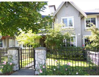 "Photo 1: 2 8415 CUMBERLAND Place in Burnaby: The Crest Townhouse for sale in ""ASHCOMBE"" (Burnaby East)  : MLS®# V788857"