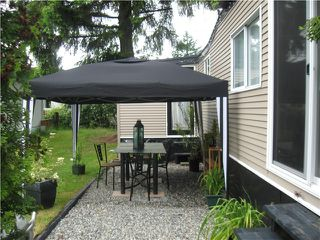 """Photo 2: 5 1413 SUNSHINE COAST Highway in Gibsons: Gibsons & Area Manufactured Home for sale in """"Poplar Mobile Home Park"""" (Sunshine Coast)  : MLS®# V836470"""