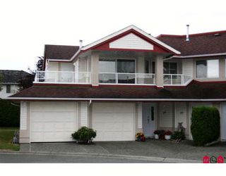 "Photo 1: 55 31406 UPPER MACLURE Road in Abbotsford: Abbotsford West Townhouse for sale in ""THE ESTATES OF ELLWOOD"" : MLS®# F2915050"