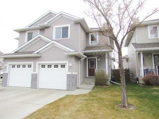 Main Photo: 1428 HODGSON Way in Edmonton: Zone 14 House Half Duplex for sale : MLS®# E4226312