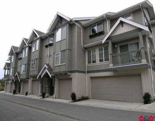 "Photo 1: 38 6651 203RD ST in Langley: Willoughby Heights Townhouse for sale in ""Sunscape"" : MLS®# F2608056"
