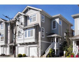 Photo 1: 4 15068 58TH Avenue in Surrey: Sullivan Station Townhouse for sale : MLS®# F2916129