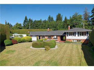 Photo 1: 695 BURLEY Drive in West Vancouver: Home for sale : MLS®# V973541