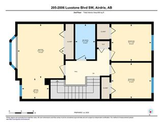 Photo 35: 205 2006 LUXSTONE Boulevard SW: Airdrie Row/Townhouse for sale : MLS®# A1010440