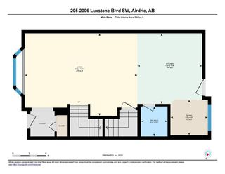 Photo 34: 205 2006 LUXSTONE Boulevard SW: Airdrie Row/Townhouse for sale : MLS®# A1010440