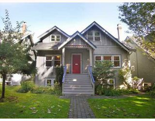 Photo 1: 3507 W 20TH Avenue in Vancouver: Dunbar House for sale (Vancouver West)  : MLS®# V786595