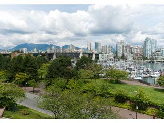 "Photo 1: 304 1490 PENNYFARTHING Drive in Vancouver: False Creek Condo for sale in ""HARBOUR COVE"" (Vancouver West)  : MLS®# V839752"