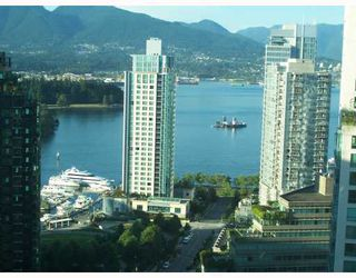"""Photo 1: 2303 1288 W GEORGIA Street in Vancouver: West End VW Condo for sale in """"RESIDENCE AT THE GEORGIA."""" (Vancouver West)  : MLS®# V752448"""