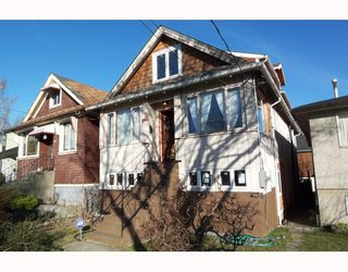Main Photo: 1950 TEMPLETON Drive in Vancouver: Grandview VE House for sale (Vancouver East)  : MLS®# V754247