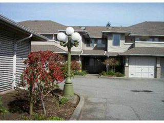 "Photo 1: 13 21491 DEWDNEY TRUNK Road in Maple Ridge: West Central Townhouse for sale in ""DEWDNEY WEST"" : MLS®# V822711"