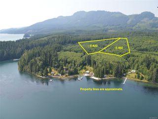 Photo 1: E-460 Quatsino Rd in : NI Port Hardy Land for sale (North Island)  : MLS®# 862757