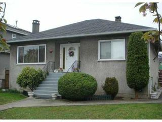 Photo 1: 2778 E 3RD Avenue in Vancouver: Renfrew VE House for sale (Vancouver East)  : MLS®# V826350