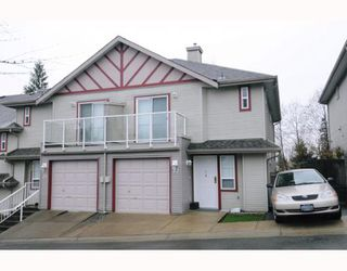 Photo 1: 22 11229 232ND Street in Maple_Ridge: East Central Townhouse for sale (Maple Ridge)  : MLS®# V758144
