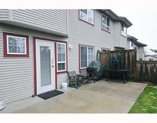 Photo 10: 22 11229 232ND Street in Maple_Ridge: East Central Townhouse for sale (Maple Ridge)  : MLS®# V758144