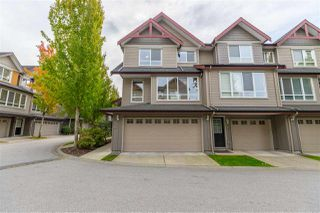 "Photo 1: 43 16789 60 Avenue in Surrey: Cloverdale BC Townhouse for sale in ""LAREDO"" (Cloverdale)  : MLS®# R2411112"