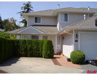 "Photo 1: 14 21928 48TH Avenue in Langley: Murrayville Townhouse for sale in ""MURRAYVILLE GLEN"" : MLS®# F2915461"