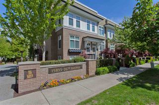 """Photo 1: 9 15833 26 Avenue in Surrey: Grandview Surrey Townhouse for sale in """"Brownstones"""" (South Surrey White Rock)  : MLS®# R2418579"""