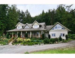 Photo 1: 11630 284TH Street in Maple Ridge: Whonnock House for sale : MLS®# V809162