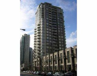 "Photo 1: 605 1295 RICHARDS Street in Vancouver: Downtown VW Condo for sale in ""THE OSCAR."" (Vancouver West)  : MLS®# V719885"