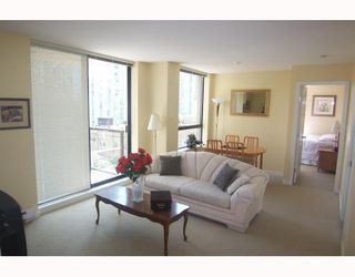 "Photo 3: 605 1295 RICHARDS Street in Vancouver: Downtown VW Condo for sale in ""THE OSCAR."" (Vancouver West)  : MLS®# V719885"