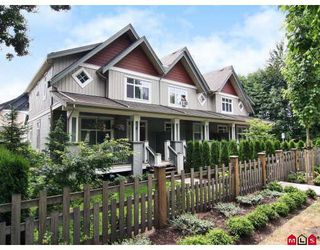 "Photo 1: 6 20120 68TH Avenue in Langley: Willoughby Heights Townhouse for sale in ""The Oaks"" : MLS®# F2822577"