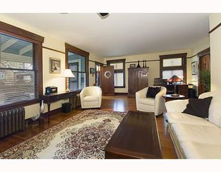 Photo 4: 1335 CYPRESS Street in Vancouver: Kitsilano House for sale (Vancouver West)  : MLS®# V758976