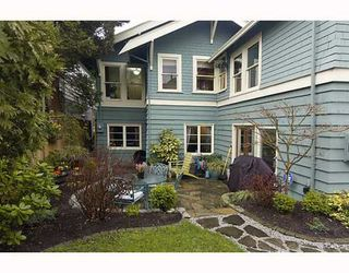 Photo 10: 1335 CYPRESS Street in Vancouver: Kitsilano House for sale (Vancouver West)  : MLS®# V758976