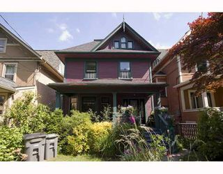 Photo 1: 31 W 11TH Avenue in Vancouver: Mount Pleasant VW House for sale (Vancouver West)  : MLS®# V773321