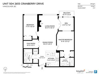 "Photo 16: 504 2655 CRANBERRY Drive in Vancouver: Kitsilano Condo for sale in ""New Yorker"" (Vancouver West)  : MLS®# R2403928"