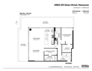 """Photo 38: 803 221 UNION Street in Vancouver: Strathcona Condo for sale in """"V6A"""" (Vancouver East)  : MLS®# R2516797"""