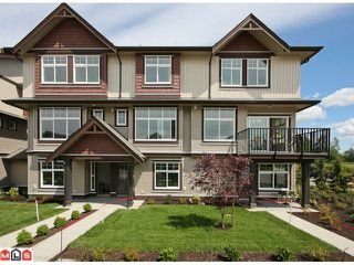 Photo 1: 2 7332 194A Street in Surrey: Clayton Townhouse for sale (Cloverdale)  : MLS®# F1019086