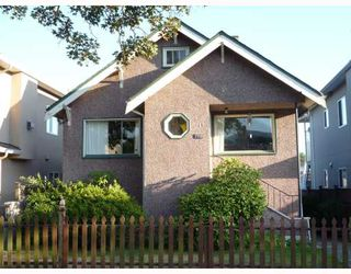 Photo 1: 2720 ADANAC Street in Vancouver: Renfrew VE House for sale (Vancouver East)  : MLS®# V779074