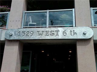 """Photo 8: 319 1529 W 6TH Avenue in Vancouver: False Creek Condo for sale in """"SOUTH GRANVILLE LOFTS"""" (Vancouver West)  : MLS®# V851772"""