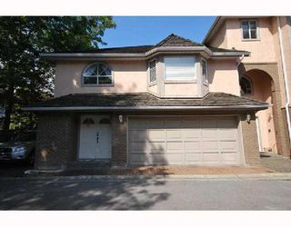 Photo 1: 31 8120 GENERAL CURRIE Road in Richmond: Brighouse South Townhouse for sale : MLS®# V775001