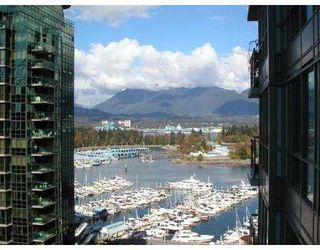 Photo 6: 2203 1328 W PENDER ST in Vancouver: Coal Harbour Condo for sale (Vancouver West)  : MLS®# V559668