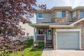 Photo 1: 3625 11 Street in Edmonton: Zone 30 House Half Duplex for sale : MLS®# E4170120