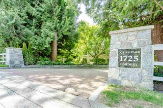 Photo 1: 103 1725 128 STREET in Surrey: Crescent Bch Ocean Pk. Condo for sale (South Surrey White Rock)  : MLS®# R2470348