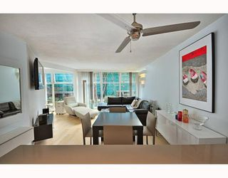 "Photo 1: B104 1331 HOMER Street in Vancouver: Downtown VW Condo for sale in ""PACIFIC POINT"" (Vancouver West)  : MLS®# V802333"