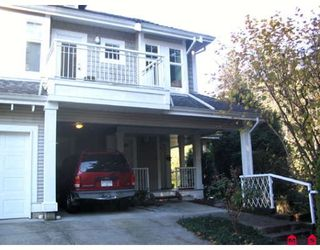 "Photo 1: 15 9036 208TH Street in Langley: Walnut Grove Townhouse for sale in ""HUNTERS GLEN"" : MLS®# F1006862"