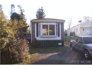 Photo 1: 28B 6947 W Grant Rd in SOOKE: Sk John Muir Manufactured Home for sale (Sooke)  : MLS®# 493162
