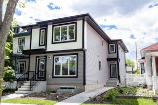 Photo 1: 11252 93 Street in Edmonton: Zone 05 Duplex Front and Back for sale : MLS®# E4208944
