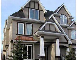 Photo 1: A1 2020 27 Avenue SW in CALGARY: South Calgary Townhouse for sale (Calgary)  : MLS®# C3412383