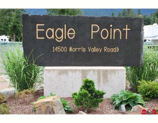 """Photo 1: 93 14500 MORRIS VALLEY Road in Mission: Lake Errock Land for sale in """"Eagle Point Estates"""" : MLS®# F2905639"""