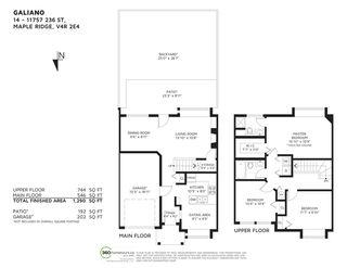 "Photo 20: 14 11757 236 Street in Maple Ridge: Cottonwood MR Townhouse for sale in ""GALIANO"" : MLS®# R2412264"