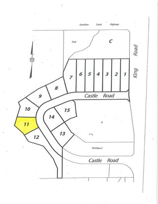 "Main Photo: LOT 11 CASTLE Road in Gibsons: Gibsons & Area Land for sale in ""KING & CASTLE"" (Sunshine Coast)  : MLS®# R2422442"