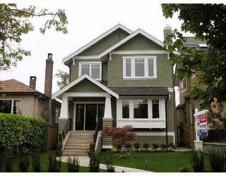 Photo 1: 4073 W 18TH Avenue in Vancouver: Dunbar House for sale (Vancouver West)  : MLS®# V755311