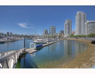 "Photo 9: 1063 MARINASIDE Crescent in Vancouver: False Creek North Townhouse for sale in ""QUAYWEST"" (Vancouver West)  : MLS®# V775209"